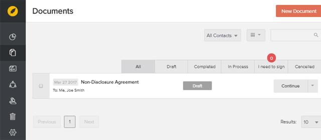 eversign document management