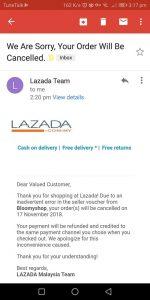 lazada slash dan 11 11 sales 2018 kegembiraan dibalas penipuan