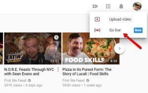 live streaming youtube kini bisa juga melalui komputer desktop