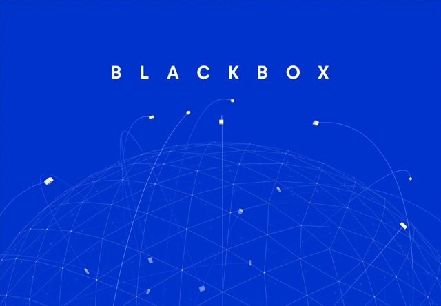 Coming soon page of Blackbox