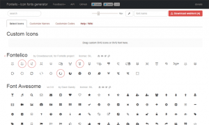 6 free tools for creating your own icon font