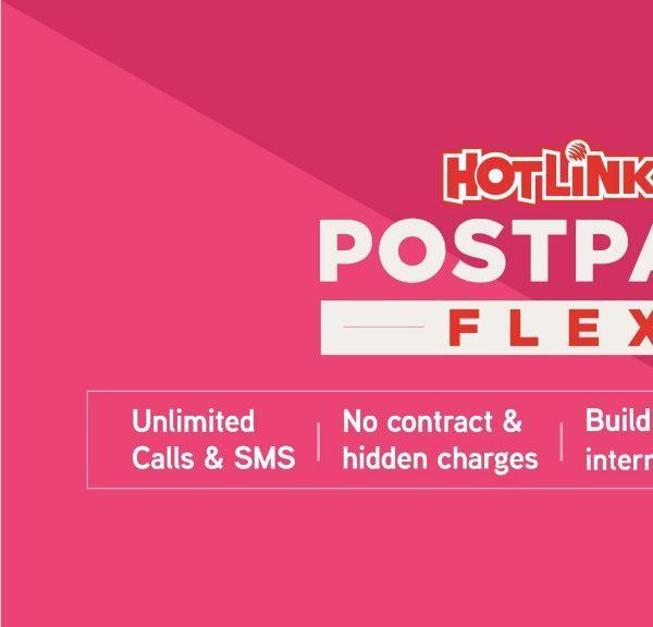 maxis melancarkan hotlink postpaid flex disertakan dengan telefon pintar