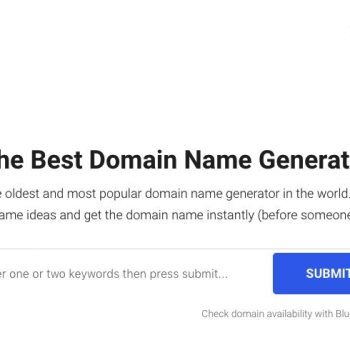 5 best blog name generators