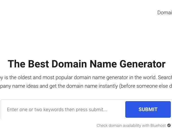5 best blog name generators