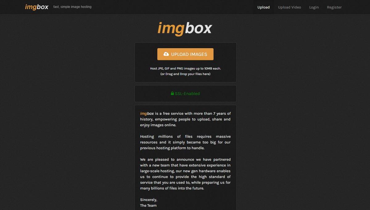 Imgbox Free Image Hosting Sites