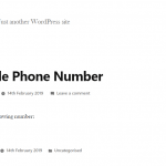 how to make phone number clickable
