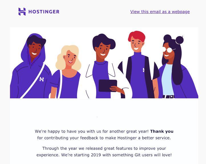 Hostinger Newsletter