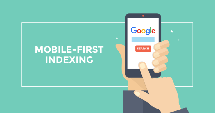 wedia blogpost mobile first indexing Google 740x389