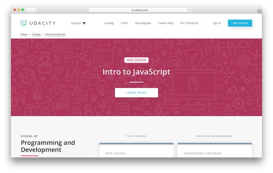 Learn JavaScript with Udacity