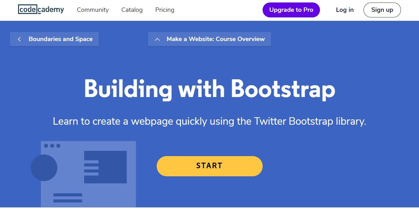 codeacademy bootstrap premium course