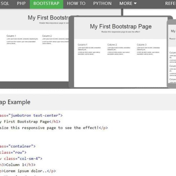 5 websites with the best bootstrap tutorials