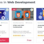 best places to learn website development online