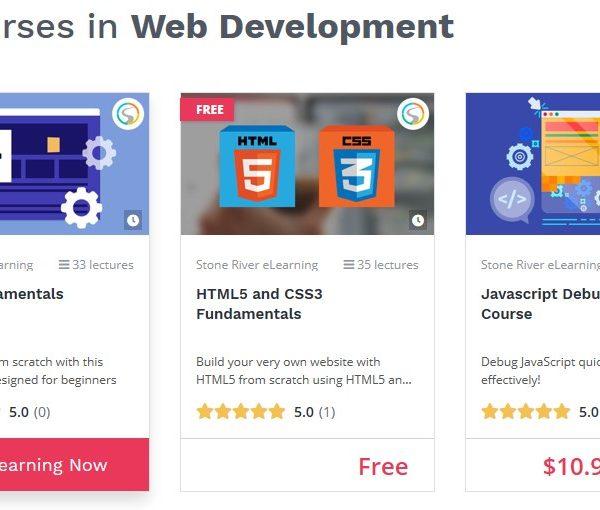 best places to learn website development online