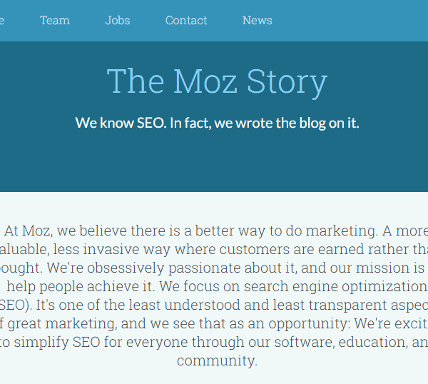 how to make a great about me page