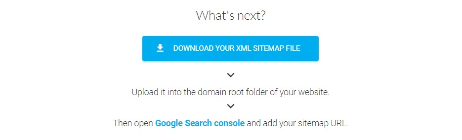 Sitemap XML to generate sitemap file