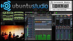 rom comm mixtape album eksperimental yang dibuat menggunakan ubuntu studio