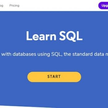 top 10 places to learn sql online