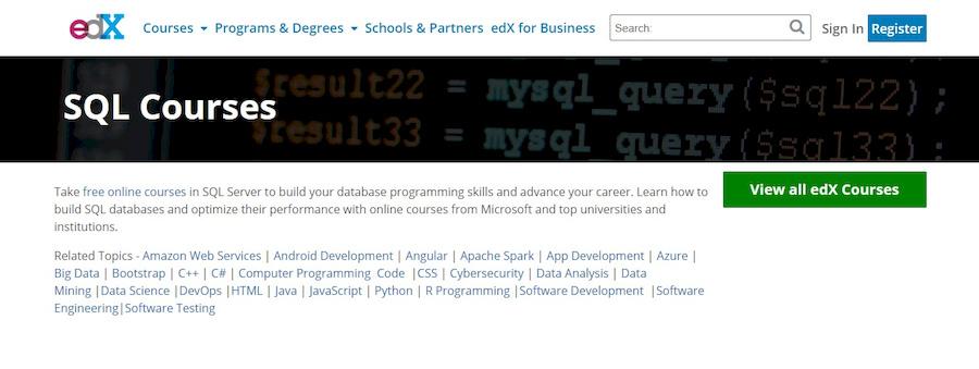 edx-sql-courses