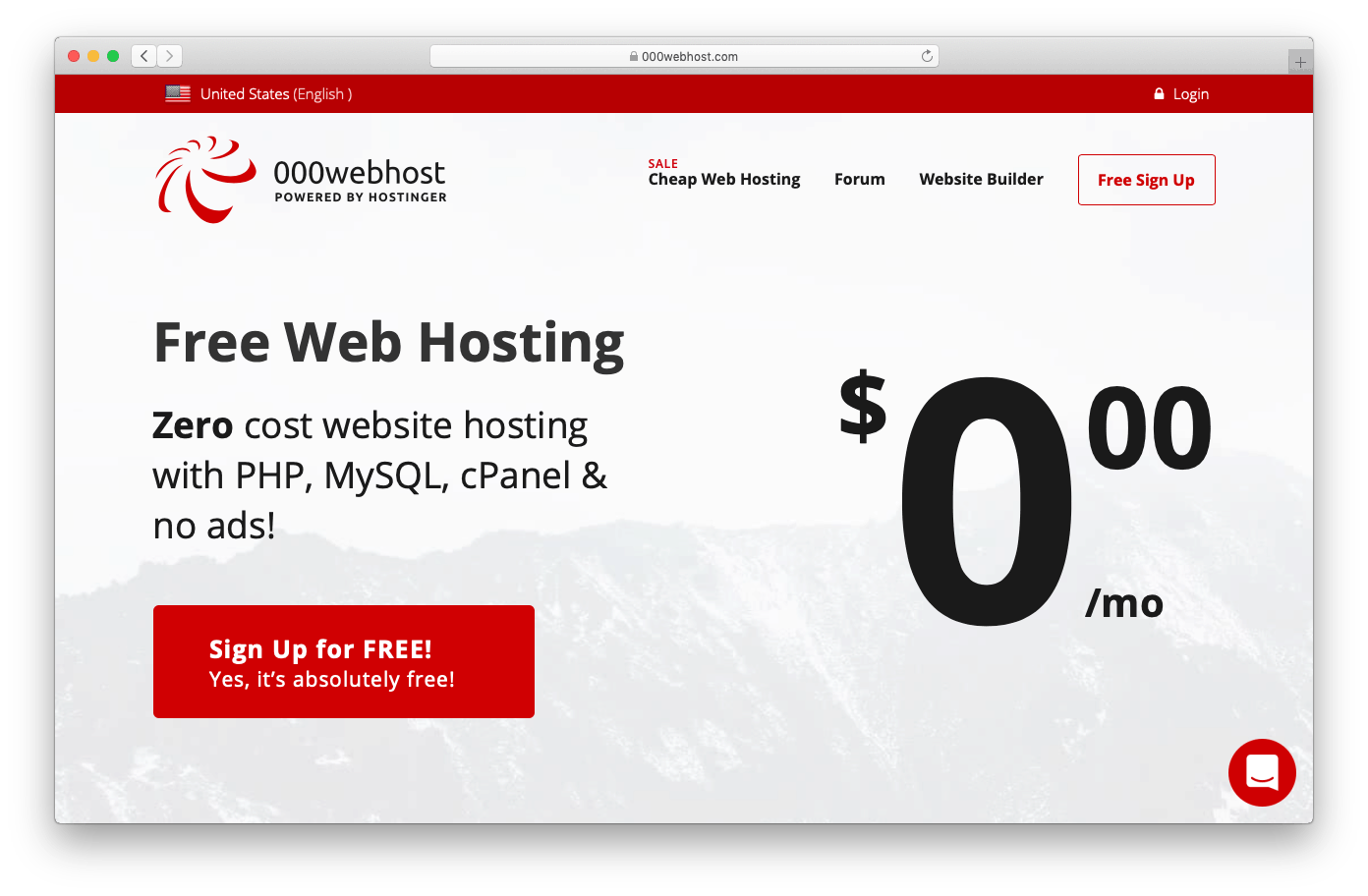 000webhost is The Best Free Webhosting