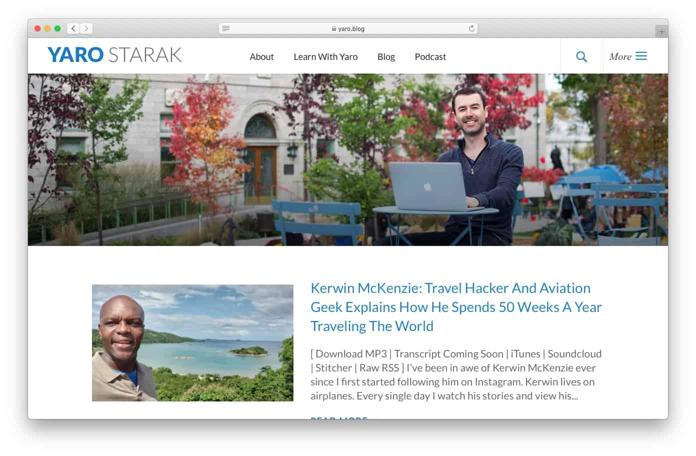 Yaro Starak Blog