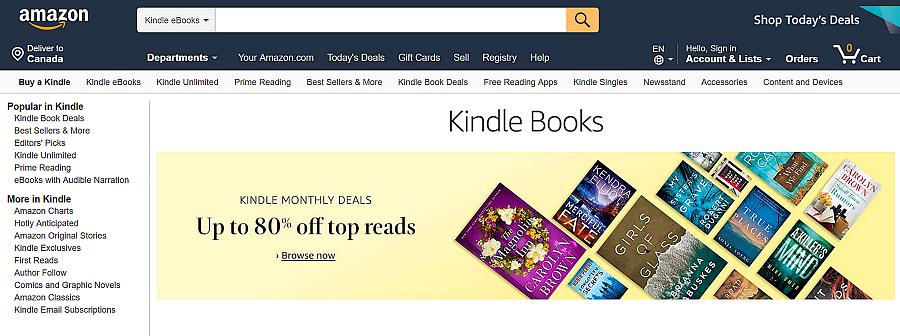 publish ebook at kindle