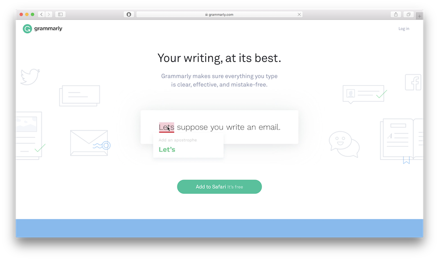 Grammarly is one of the popular grammar checker tools