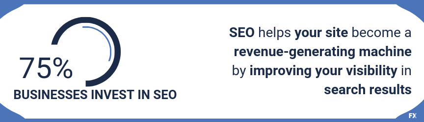SEO helps your site become a revenue-generating machine by improving your visibility in search results
