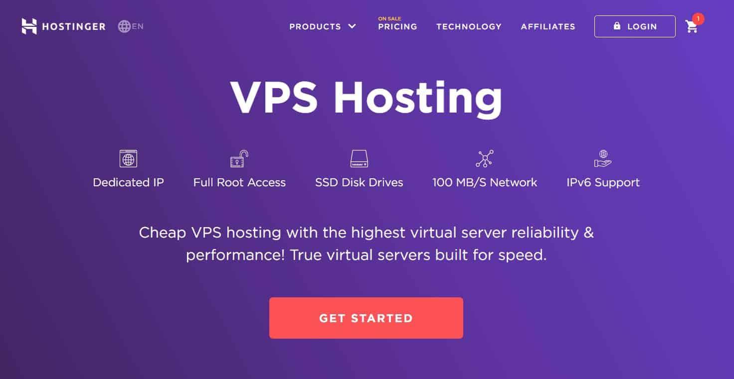 hostinger vps hosting is one of the best hosting service today