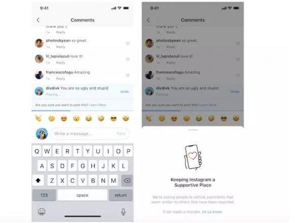 instagram gunakan ai untuk meredam komentar kasar dan bullying