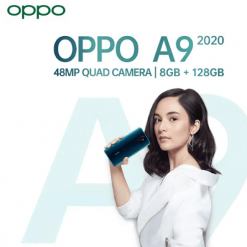 oppo a9 2020 48mp quad camera serta lensa sudut ultra lebar 119