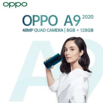 oppo a9 2020 48mp quad camera serta lensa sudut ultra lebar 119