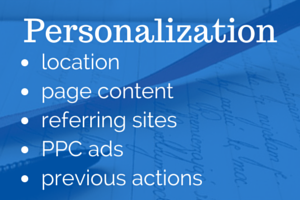 how personalized landing pages can make your site more profitable