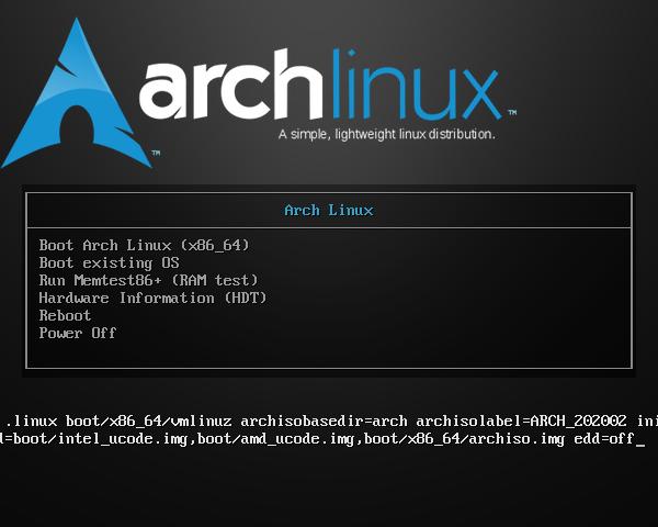 cara memasang arch linux dan mate desktop dual boot dengan windows 10