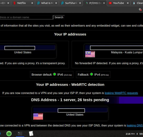 cara menyahdaya ipv6 dalam ubuntu bagi mencegah kebocoran ip