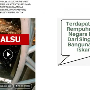 dakwaan kononnya terdapat kejadian rempuhan warga negara malaysia dari singapura di bsi johor adalah tidak benar