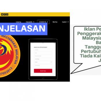 iklan pertubuhan penggerak masyarakat malaysia adalah di bawah tanggungjawab pertubuhan sendiri tiada kaitan dengan jkm