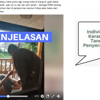 video individu dipukul kerana enggan tandatangan penyerahan tanah adalah video kejadian tahun 2019